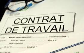 signer un contrat de travail